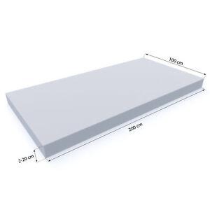 MSS-Schaumstoffplatte-Schaumstoffpolster-Topper-Matratze-Matte-100-x-200-x2-20cm