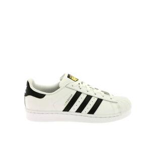 Adidas-Superstar-J-Sneaker-Bambini-C77154-Ftwr-White
