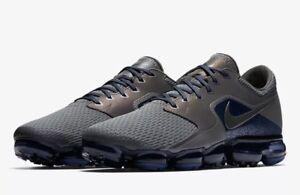 35db1b4389c Nike Air Vapormax R Mesh CS Running Shoes Midnight Fog Gray Blue 11 ...