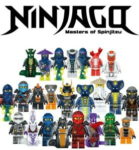 Ninjago-vs-The-Serpentine-Minifigures-Set-24pc-Lot-USA-SELLER
