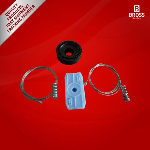 Window Regulator Kit with Rear L or R for Jaguar XK8//XKR Cabriolet Convertible