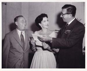 ANN MILLER DORE SCHARY JOE PASTERNAK Original CANDID Vintage 1954 MGM Photo    eBay