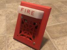 Wheelock 7001t 24 Fire Alarm Audible 24vdc Bsa 804 84 Sa Great Condition