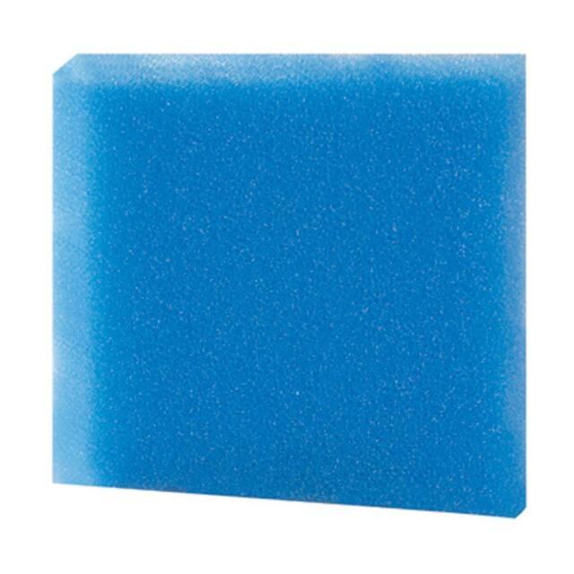 ESPUMA FILTRANTE HOBBY 25x25x5cm.FOAMEX azul FINO, para Filtro Acuario,gambario