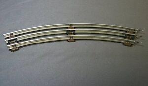 LIONEL-027-GAUGE-STANDARD-CURVE-TRACK-O27-train-3-rail-tubular-steel-6-65033-NEW