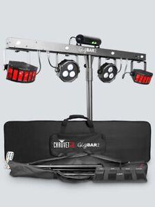 IndéPendant Chauvet Gigbar 2 1 En 4-système D'éclairage Laser Strobe Lavage Uv Wireless Switch-afficher Le Titre D'origine Belle Apparence