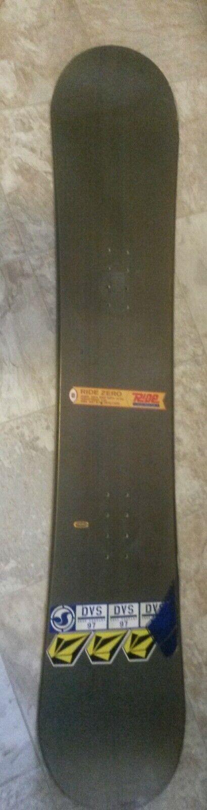Vintage RIDE ZERO genuine collector series Snowboard Thermal pro ridden 153cc