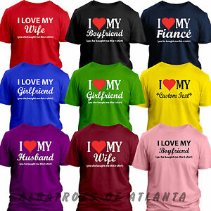 I Love My Girlfriend Boyfriend Wife Fiance Funny Valentines Day Gift