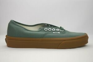 Vans-Authentic-Duck-Green-Gum-Skate-Shoes-Men-039-s-Size-7-11-New-in-Box-VN0A38EMQ9V