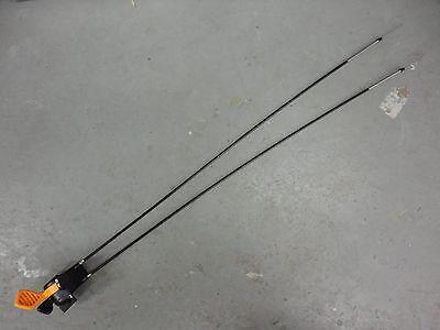 JOHN DEERE Throttle Choke Control Cable Lever Set AM136026 X500 X520 X540 EBay