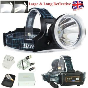BORUiT-B10-XM-L2-LED-Headlamp-18650-USB-Rechargeable-Head-Torch-Light-Flashlight