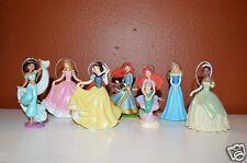 Disney Princess Deluxe Christmas Ornament Set 7 pc Merida Ariel Aurora Jasmine