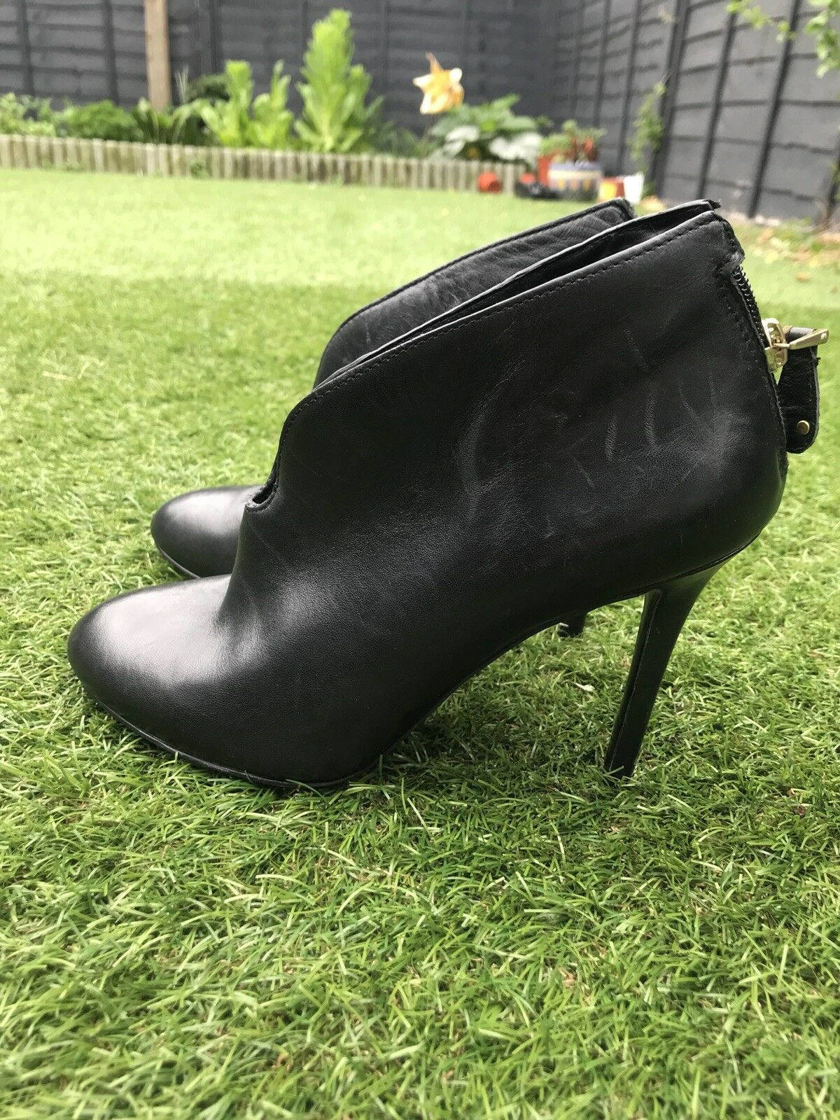 Guess High Heel Stiefel Leather Größe Größe Größe 5 Winter Collection 1b3116