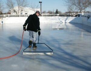 Image Is Loading Backyard Ice Skate Rink Resurfacer Pond Skating Master