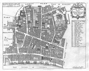Antique-maps-Tower-Street-Ward
