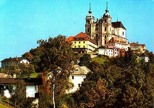 Sonntagberg-Wallfahrtskirche-Ansichtskarte-gelaufen