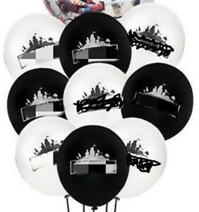 "20 x 10"" Fort nite latex balloons fortnight fort night 2.2g  battle royale"