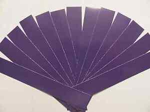 1 Douzaine Violet Arrow Wraps + Extras!!! * Plusieurs Tailles Disponibles *-afficher Le Titre D'origine Demande DéPassant L'Offre