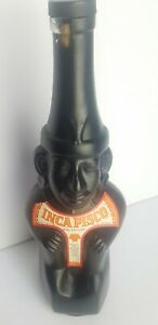 Collectable Inca Pisco Bottle Big 750ml