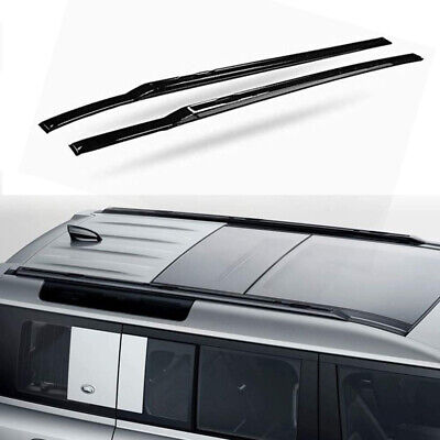 Roof Rail Rack Side Rail Bar Fits for Land Rover Defender ...