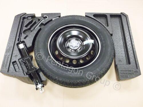 Genuine Nissan Qashqai 2014 Foams Spare Wheel Space Saver Tool Kit /& Tyre