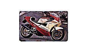 Ducati 851 Superbike Kit Motorbike A4 Photo Retro Bike Ebay