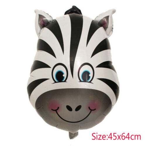 Cute Jungle Animal Zoo Safari Helium Balloon Birthday Party Decor Foil Balloon