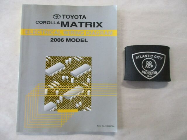 2006 Toyota Corolla Matrix Electrical Wiring Diagram