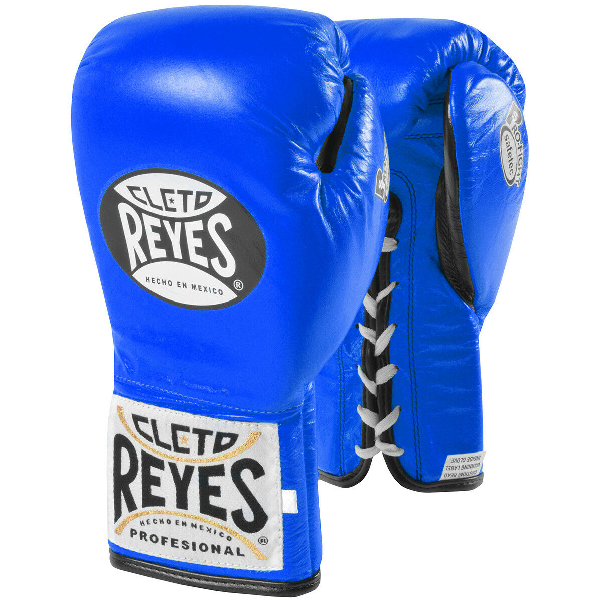 Cleto Reyes Safetec Professionelle Boxhandschuhe - Blau