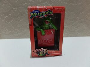 2002-JIM-HENSONS-MUPPETS-MACYS-COLLECTIBLE-ORNAMENT-KERMIT-THE-FROG