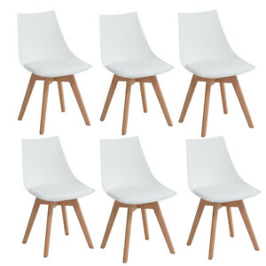 Silla de comedor moderna Silla de madera maciza para silla de ...