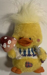 Vintage-Flocked-Easter-Duck-Spring-Decor