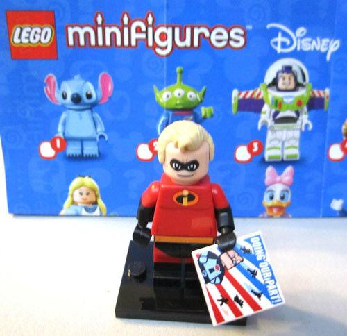Incredible Lego Mini-Figure Disney #13 Mr