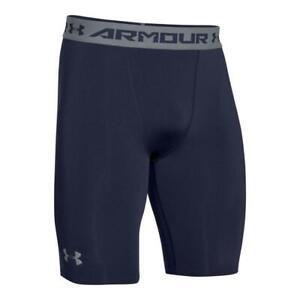 Under-Armour-Men-039-s-HeatGear-Armour-Compression-Shorts-Long