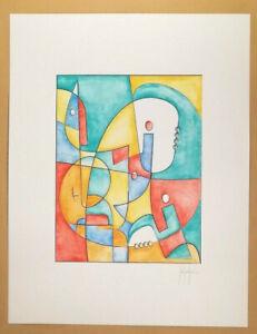 Dipinto-originale-firmato-a-mano-acquerello-su-cartoncino-di-Stefano-Fiore