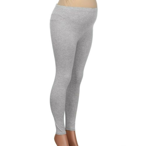 Women/'s Pregnant Maternity Pencil Stretch Pants Casual High Waist Trousers Soft