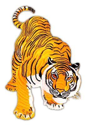 Aufnäher // Bügelbild gelb verschiedene Größen Set Tiger Löwe Tier