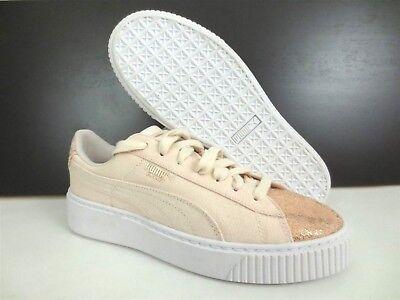reputable site 0debe 8cc8c $100 NEW PUMA Basket Platform Canvas Sparkle Toe Women's ...