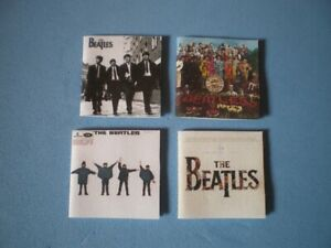 Dolls-House-miniatures-music-album-covers-THE-BEATLES