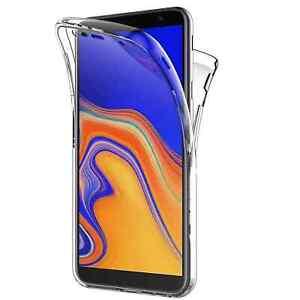 Coque Samsung Galaxy J4 Plus, 360°Full Body Coque Avant arrière pour J4+