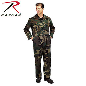 2dd77745de9 Image is loading Military-Flightsuit-AirForce-Mechanic-Camo-Coverall-Flight- Suit-