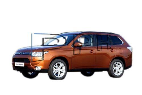 Trunk mat Mitsubishi Outlander 3 protector maletero tapis coffre vasca baule