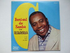 RISADINHA - FESTIVAL DE SAMBA LP DG 1st CONTINENTAL BRAZIL AFRO JAZZ CHORO BOSSA