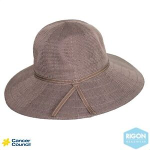 6787c0f8b81 Image is loading Cancer-Council-Suzi-Capeline-Hat-Mocha