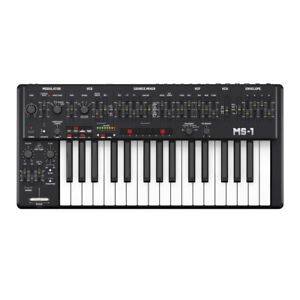 Behringer MS-1 Monophonic Analogue Desktop Synthesizer - Black