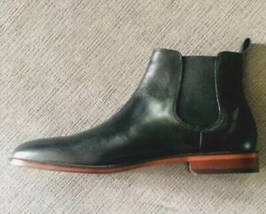 Soft Leather Chelsea Boots Size