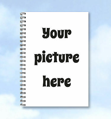 Personalised Notebook A6 - Photo Upload Portrait Photograph - great gift idea