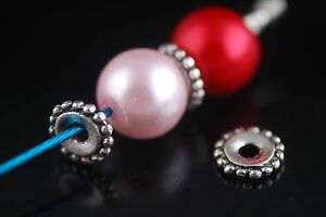 100Pcs-Charms-Tibetan-Silver-Bracelet-Jewelry-Making-Loose-Beads-Findings-8mm