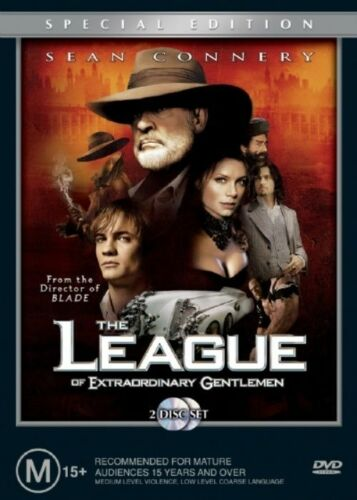 1 of 1 - The League of Extraordinary Gentlemen (2 Disc) DVD - New/Sealed Region 4 DVD