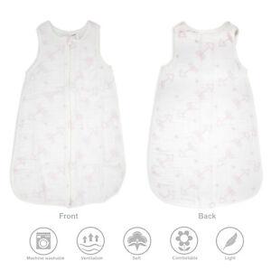 Baby-Sleeping-Bag-Soft-100-Cotton-Muslin-Sleep-Sack-Swaddle-Wearable-Blanket